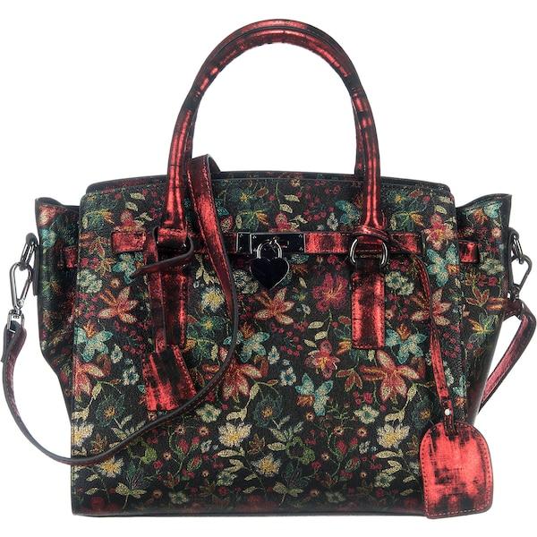 Handtaschen für Frauen - Laura Vita Handtasche 'Epernay' rot schwarz  - Onlineshop ABOUT YOU