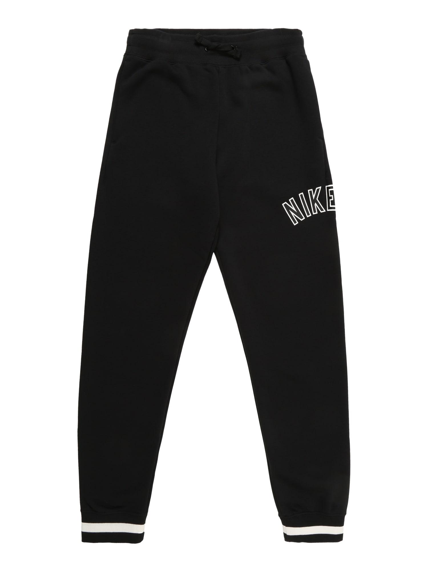 d2bb6cc257a Nike Sportswear Jongens Broek B Air Pant Zwart nike kopen in de aanbieding