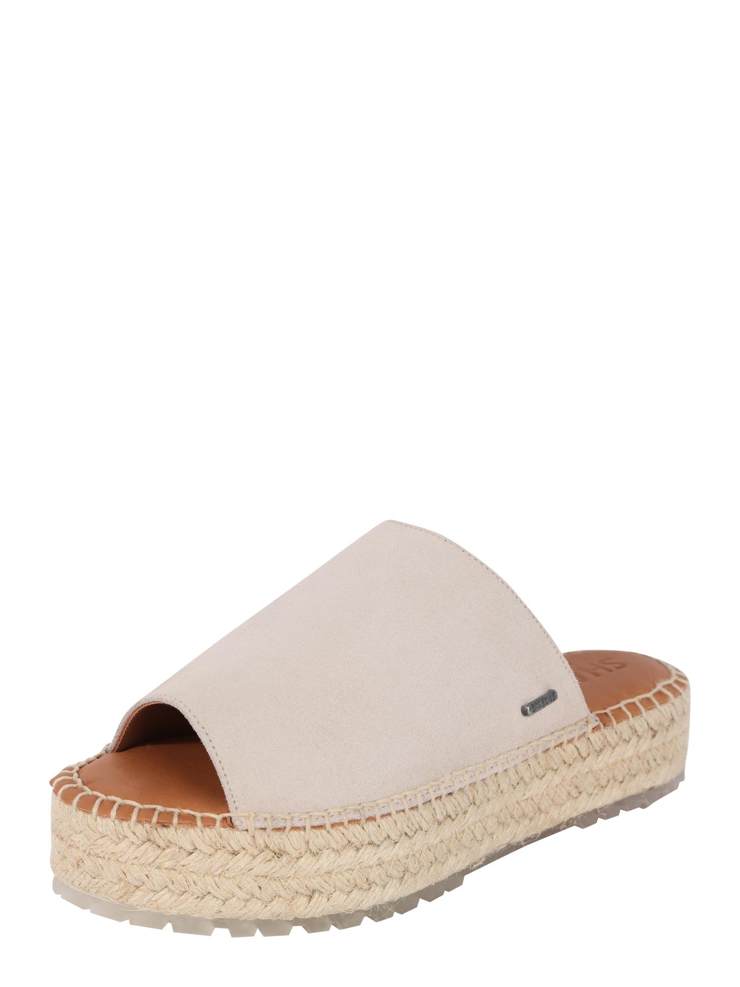 Pantofle béžová SHABBIES AMSTERDAM