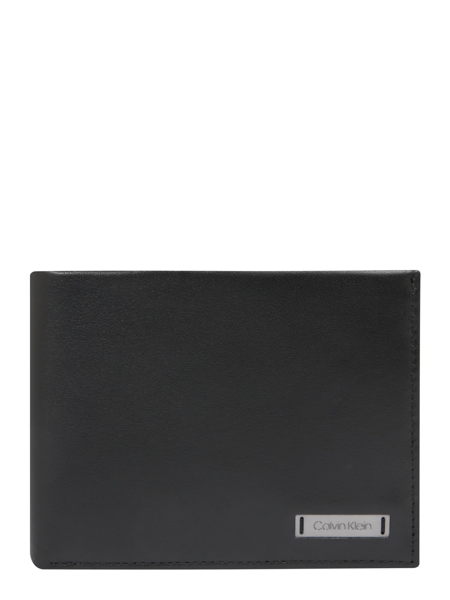 6e5ad0a51ae Calvin Klein Heren Portemonnee Smooth Zwart calvin klein kopen in de  aanbieding