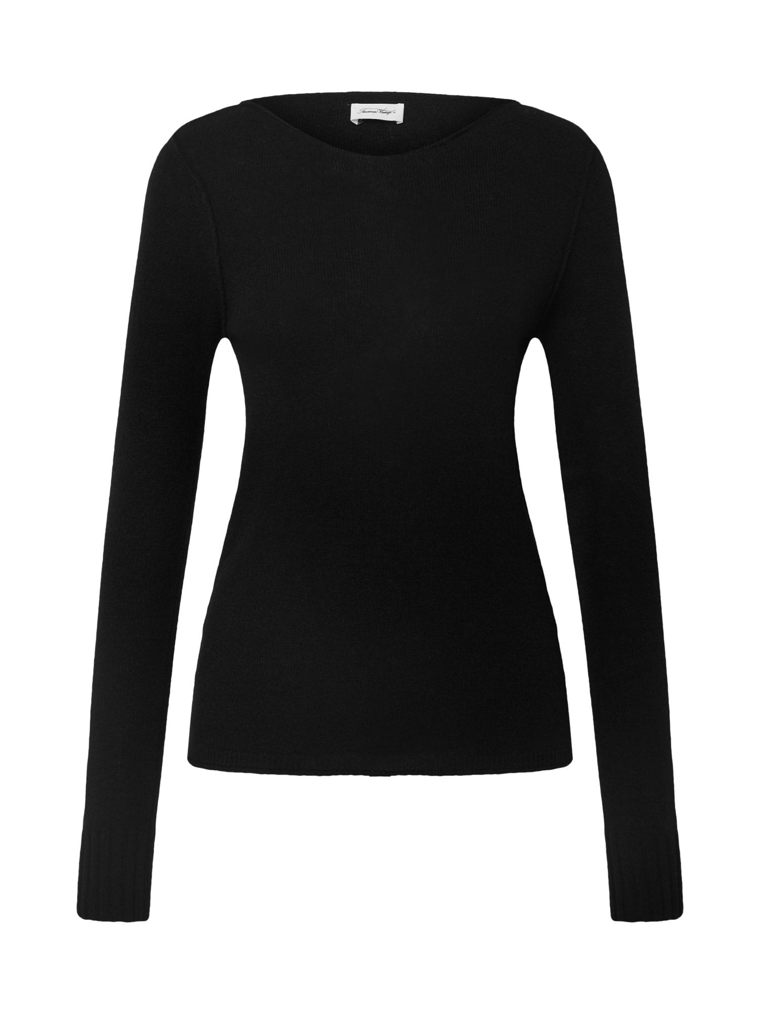 AMERICAN VINTAGE Megztinis 'Berabay' juoda
