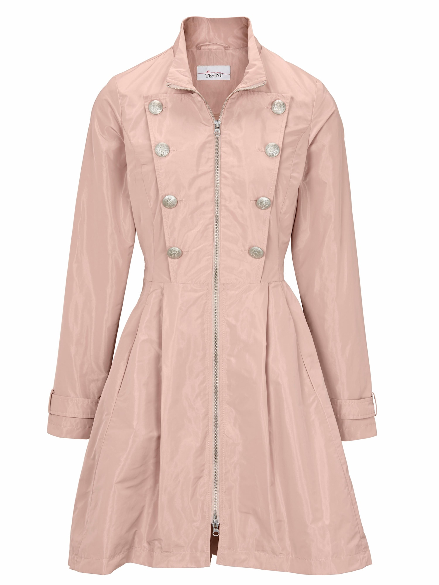 heine Demisezoninis paltas rožinė