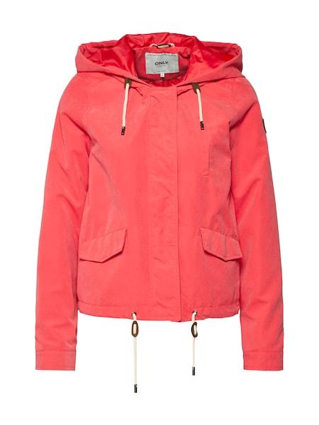 Jacken für Frauen - ONLY Jacke 'New Skylar Spring' hellrot  - Onlineshop ABOUT YOU