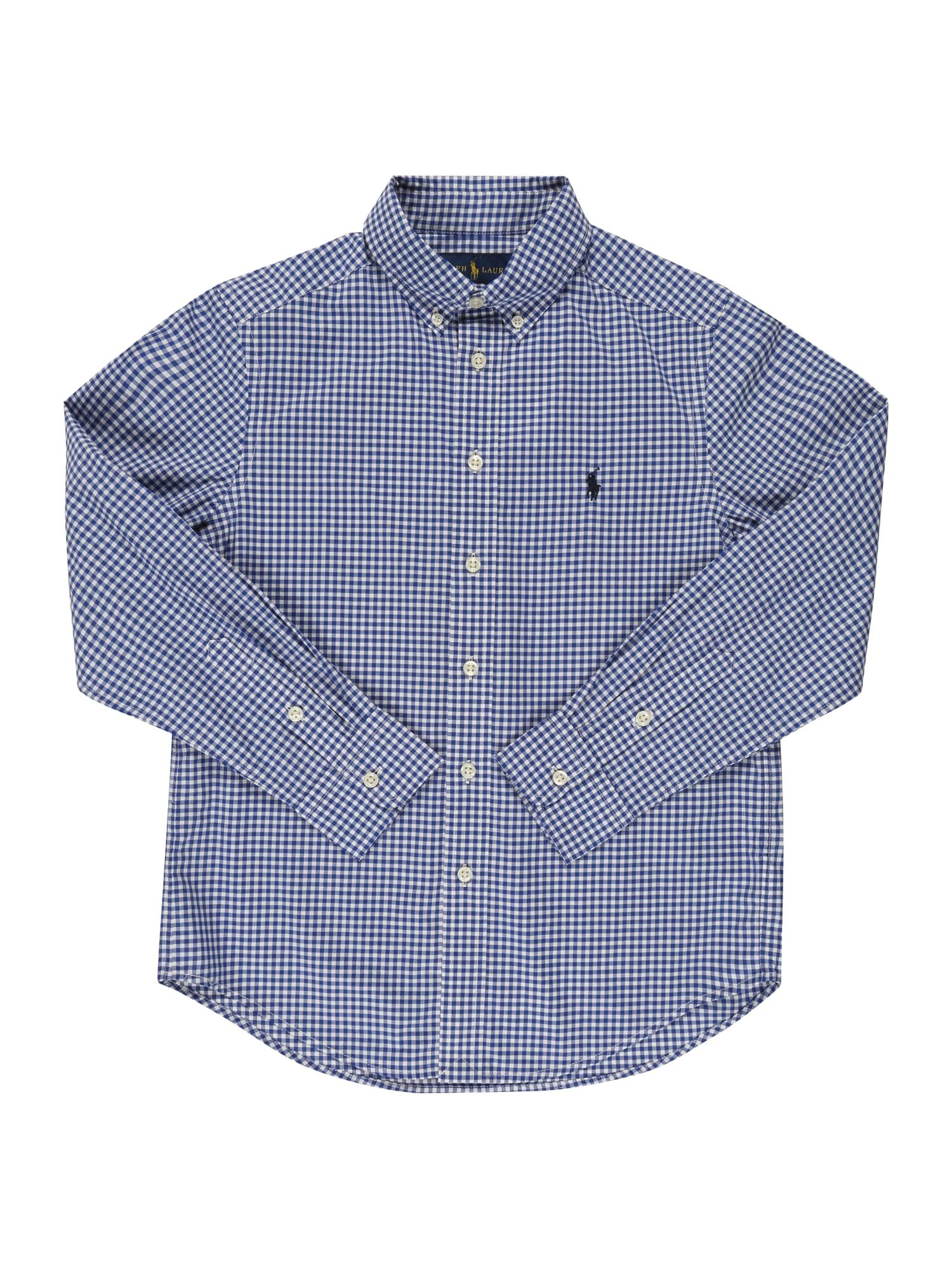 POLO RALPH LAUREN Marškiniai mėlyna