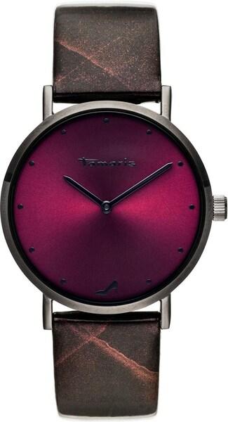Uhren für Frauen - Uhr 'Bruna, TW074' › tamaris › weinrot schwarz  - Onlineshop ABOUT YOU