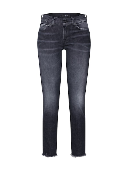 Hosen - Jeans 'MID RISE ROXANNE CROP' › 7 For All Mankind › schwarz  - Onlineshop ABOUT YOU