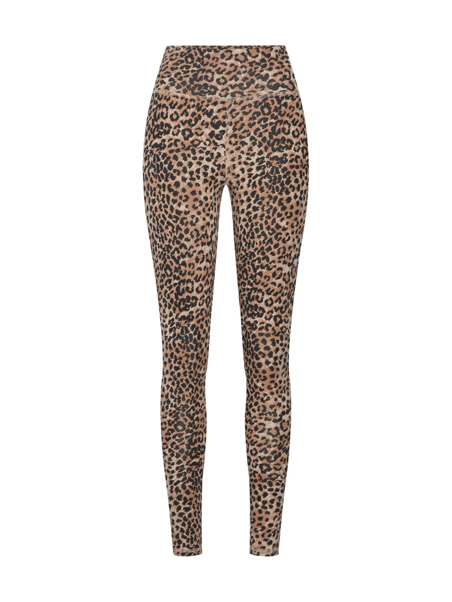 Legíny Leopard Leggings hnědá Ragdoll LA