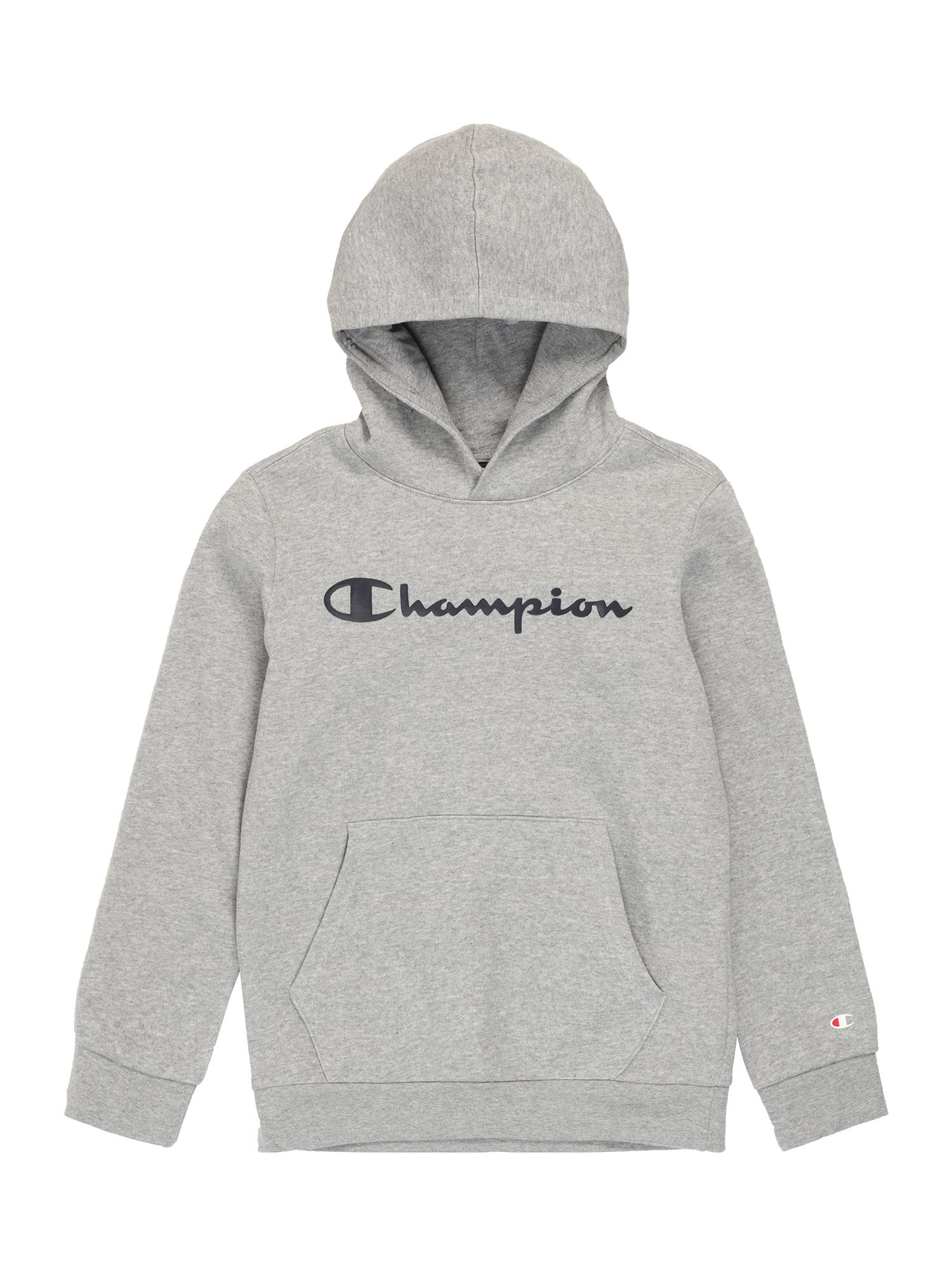 Champion Authentic Athletic Apparel Megztinis be užsegimo margai pilka