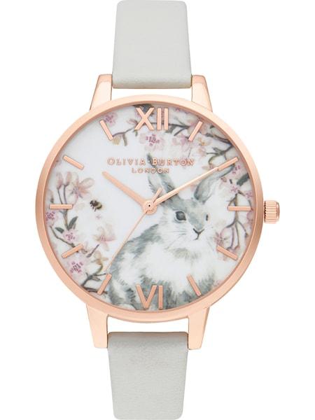 Uhren für Frauen - Olivia Burton Damenuhr 'Pretty Blossom' rosegold grau weiß  - Onlineshop ABOUT YOU