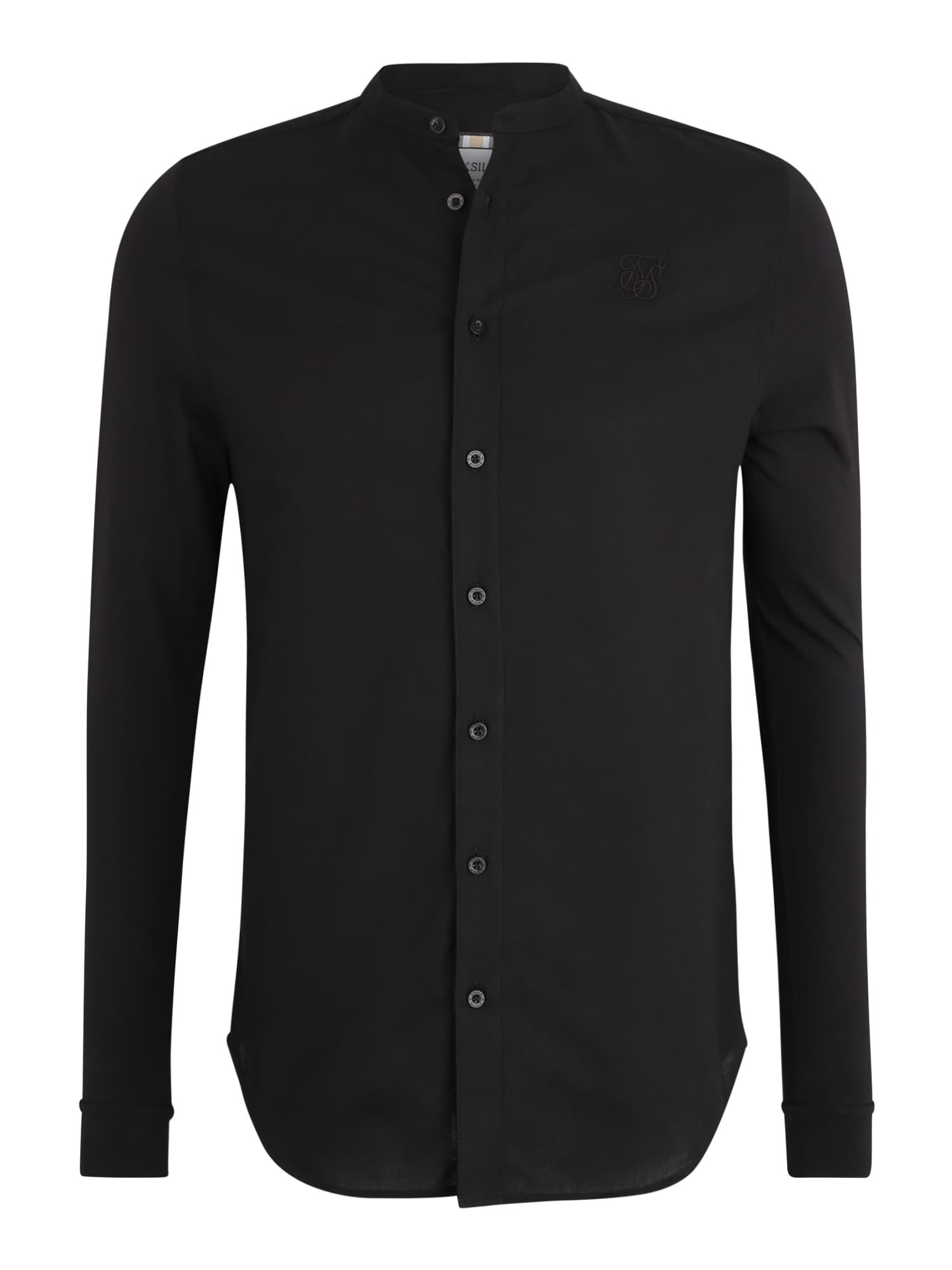 SikSilk Marškiniai juoda