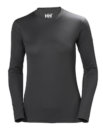 Helly Hansen Damen HH Tech Crew Funktionsshirt schwarz | 07040055436242