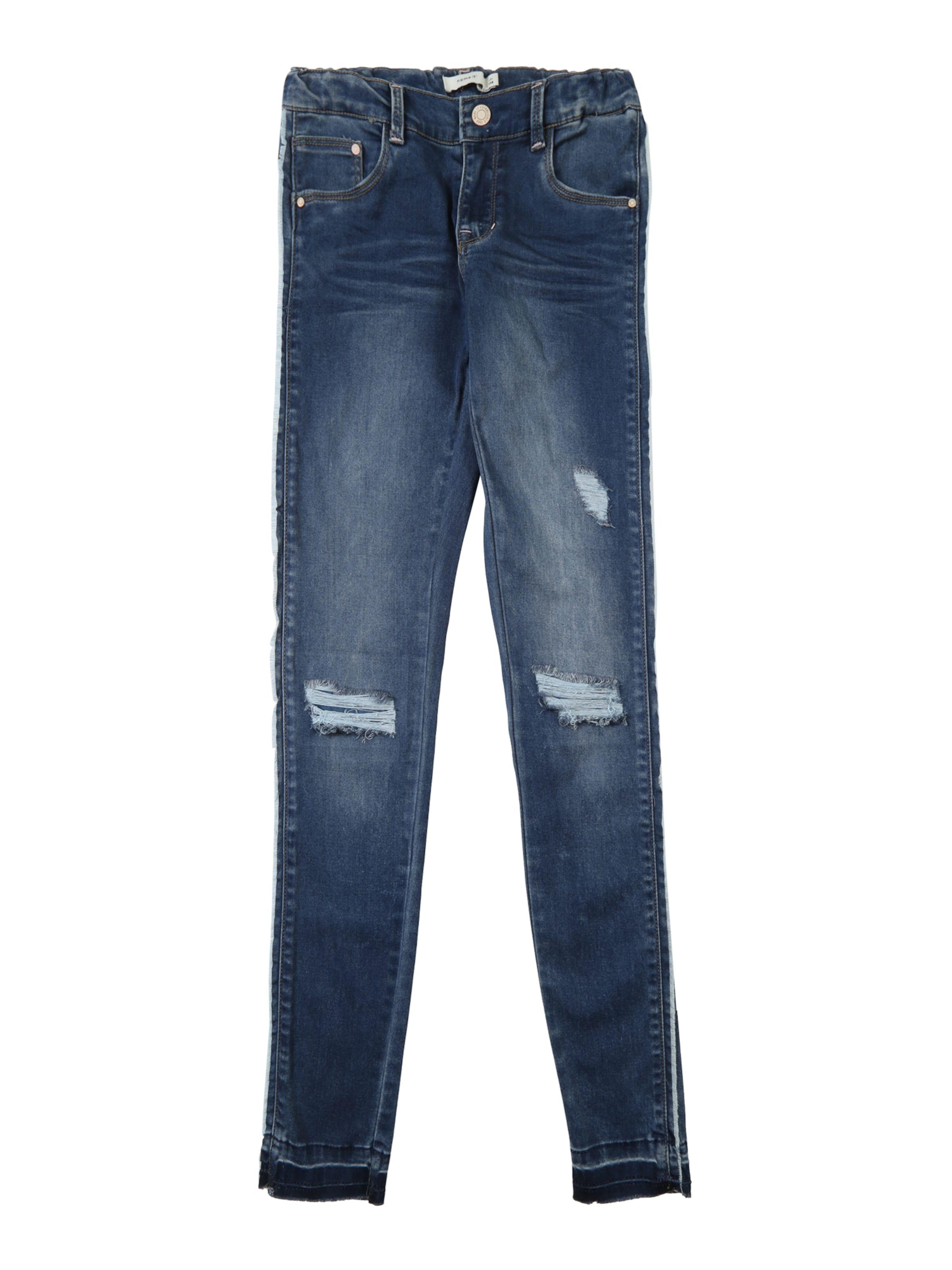 Kinder,  Mädchen,  Kinder NAME IT Jeans blau, schwarz, silber | 05713744231993