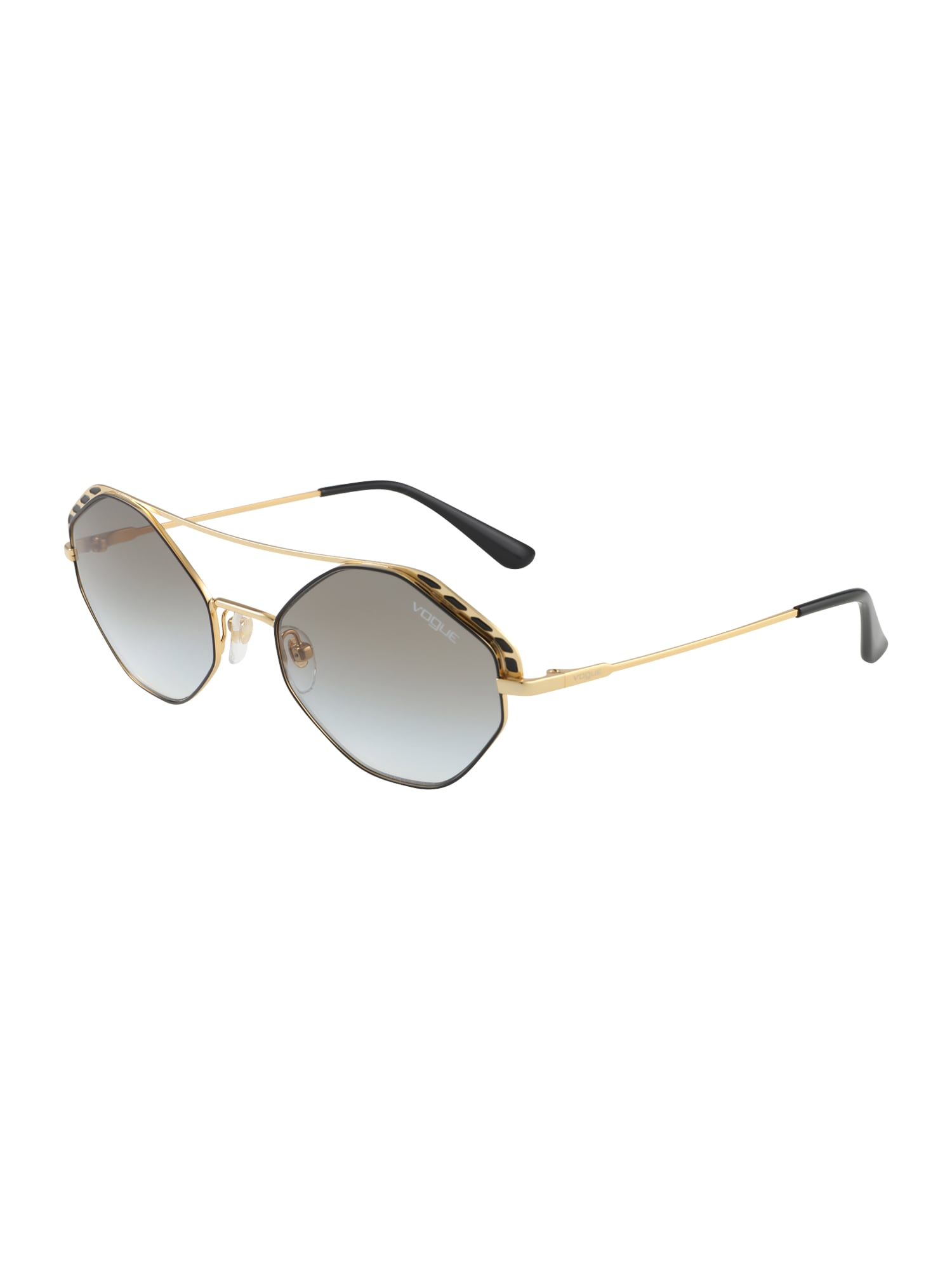 VOGUE Eyewear Akiniai nuo saulės auksas / juoda
