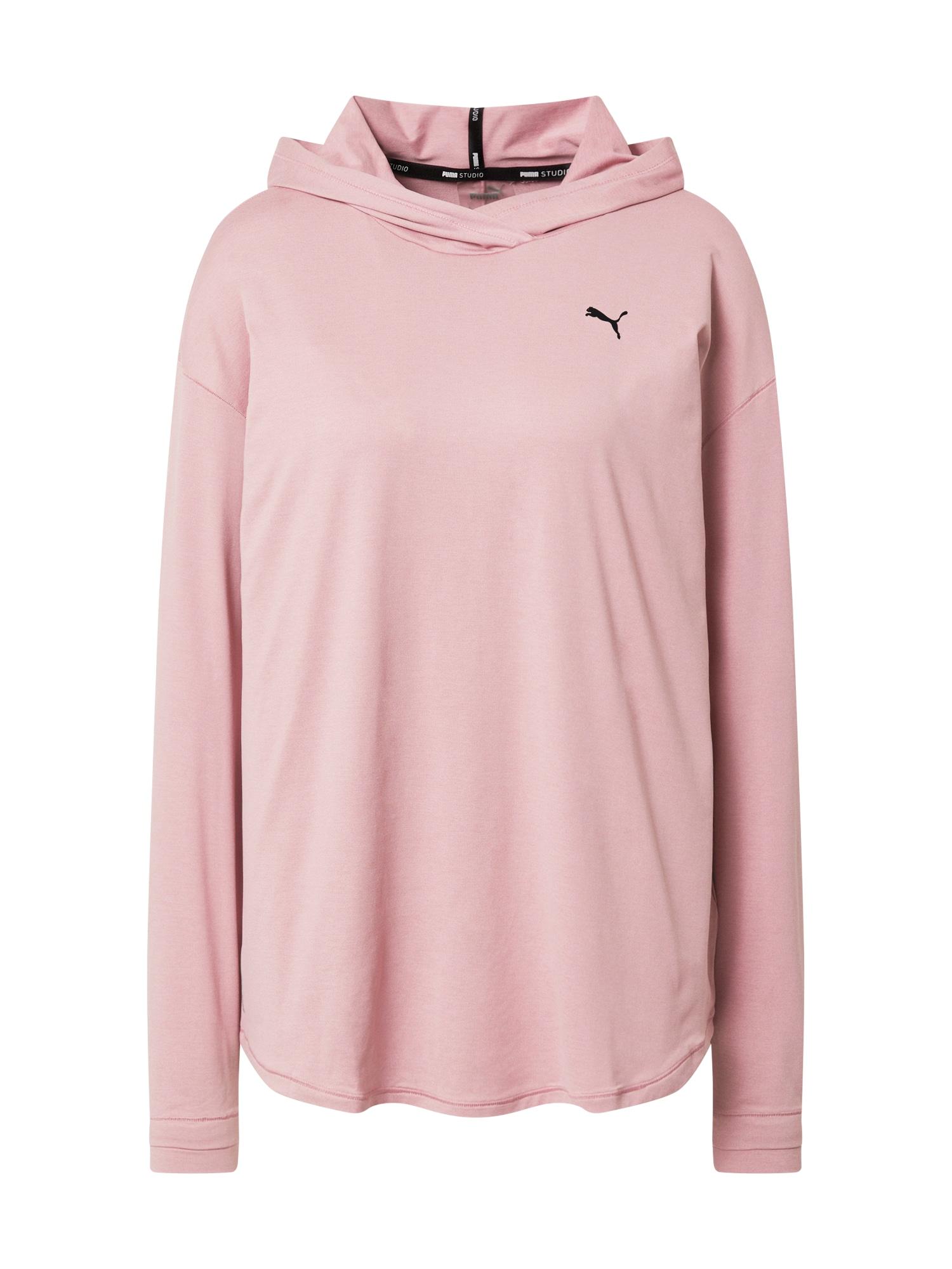PUMA Sportinio tipo megztinis ryškiai rožinė spalva