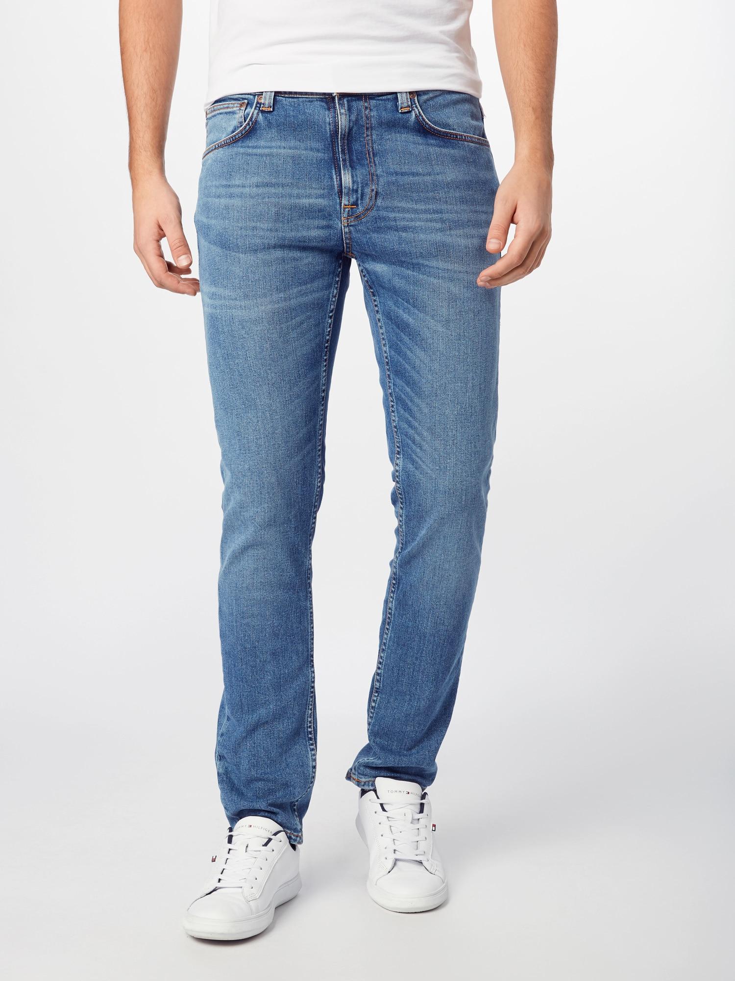 Nudie Jeans Co Jeans 'Lean Dean'  blå denim