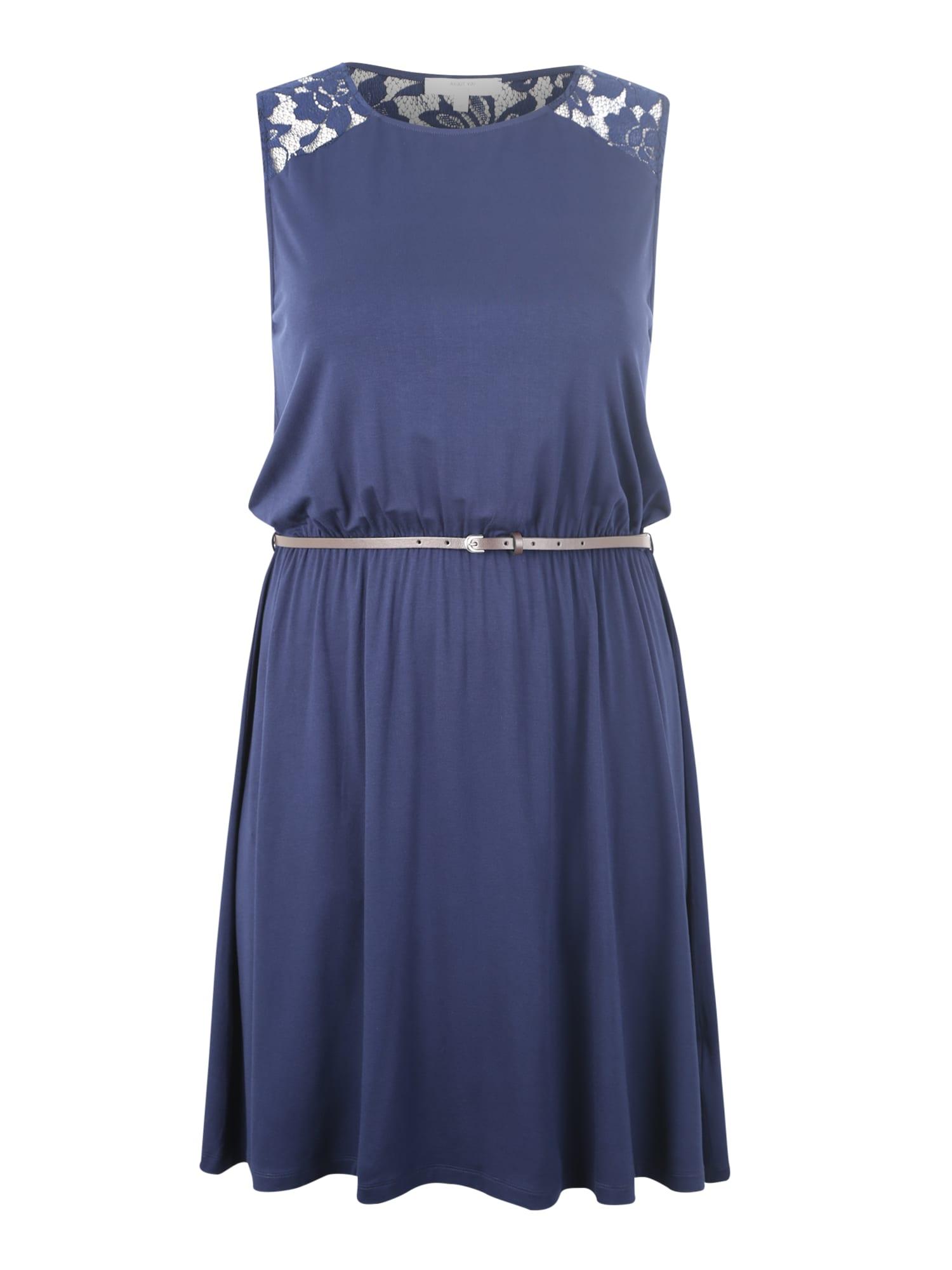 Šaty Cassia námořnická modř ABOUT YOU Curvy