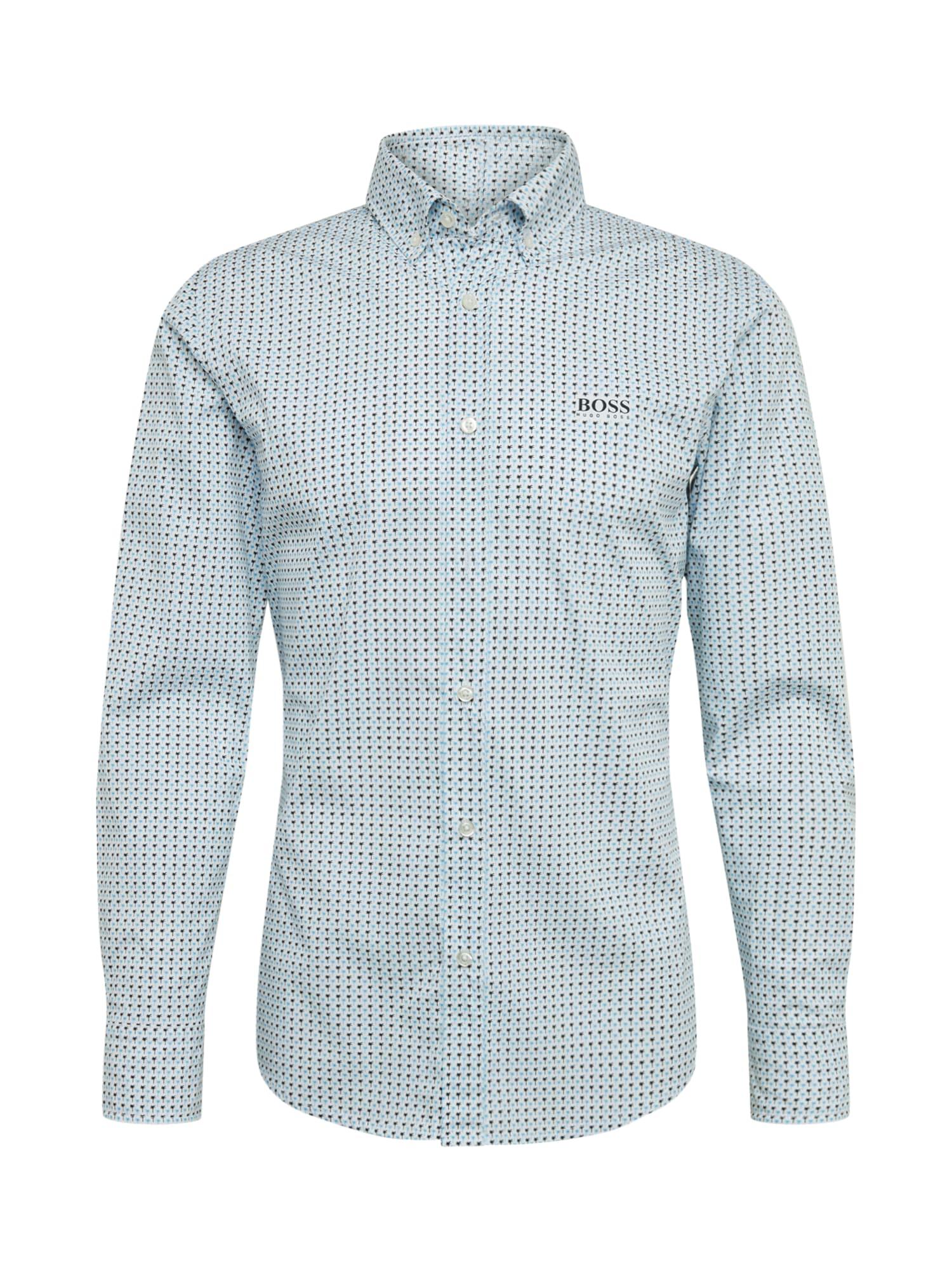 BOSS Dalykiniai marškiniai 'Mabsoot' balta