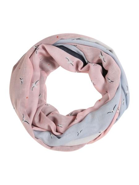 Schals für Frauen - TOM TAILOR DENIM Schal hellblau altrosa perlweiß  - Onlineshop ABOUT YOU