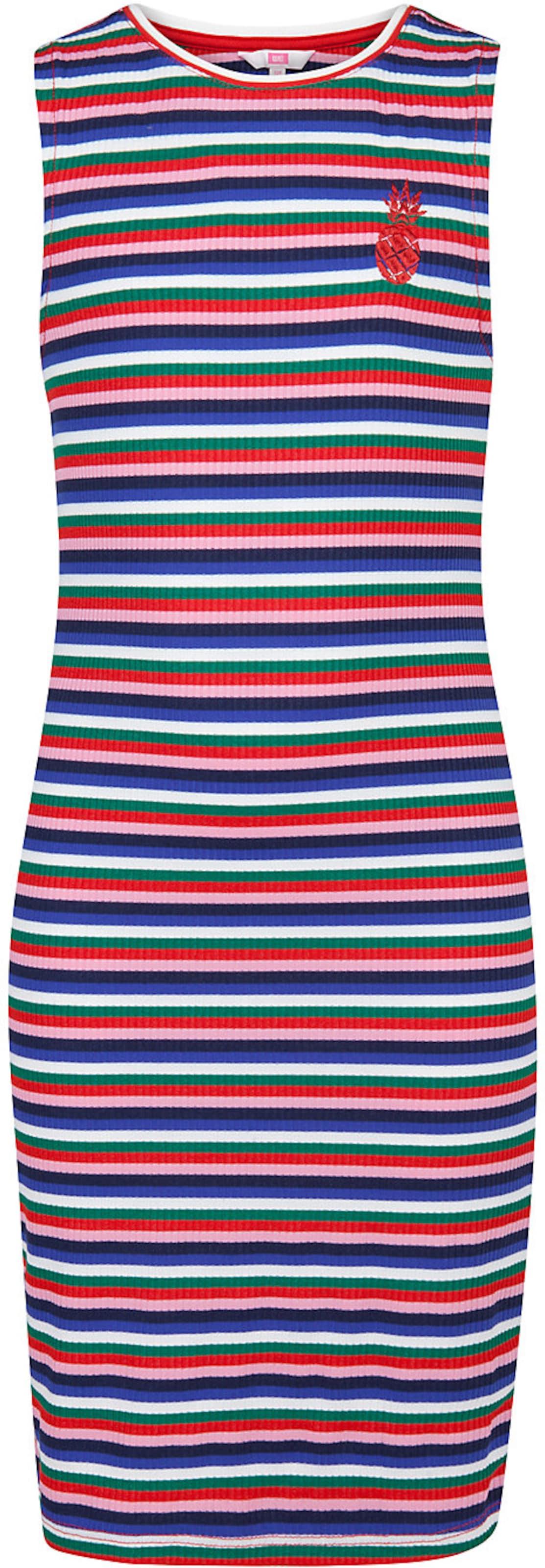 Kinder,  Mädchen,  Kinder WE Fashion Kleid 'Melis' bunt,  mehrfarbig, pink | 08719508620574