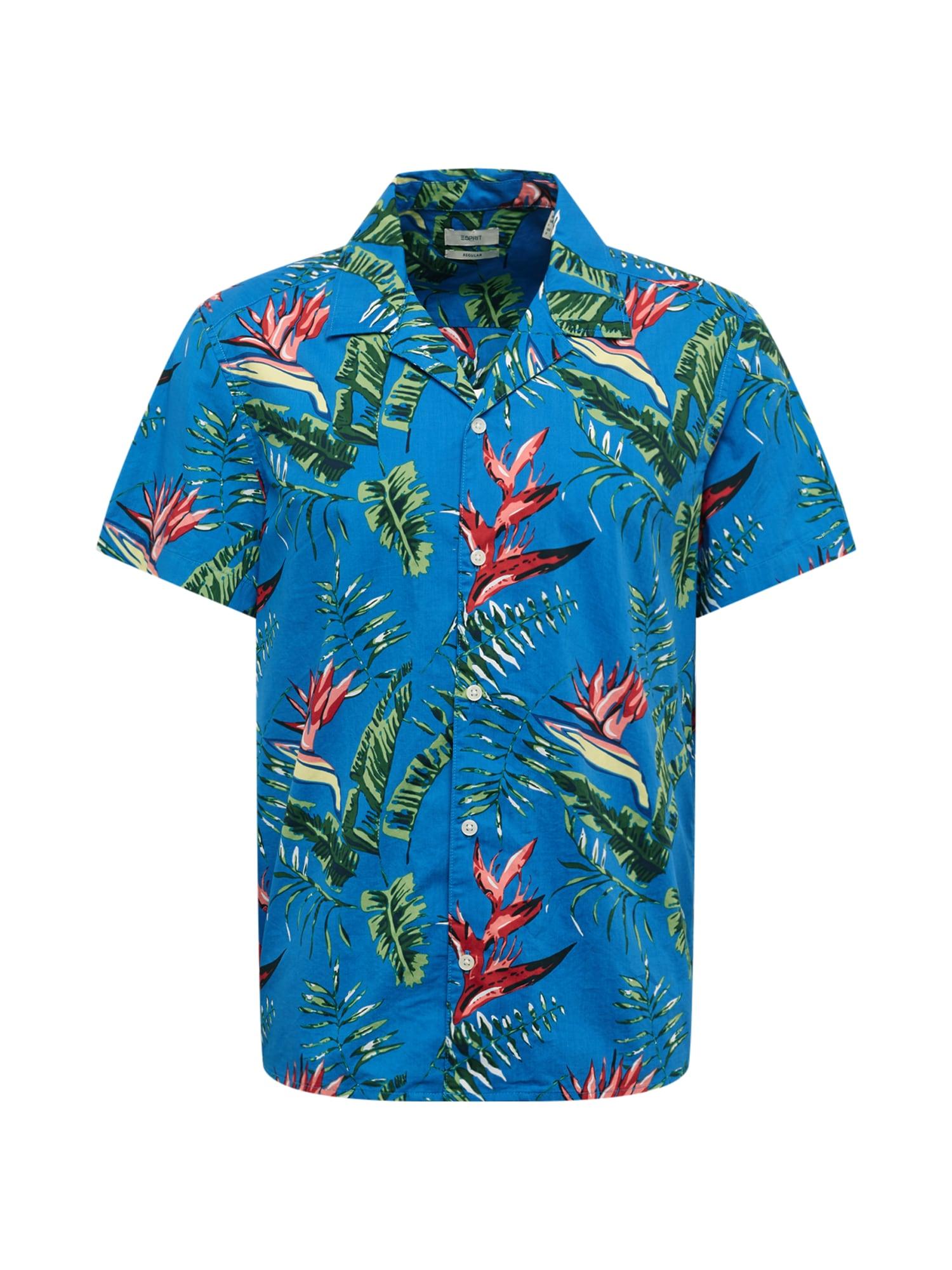 ESPRIT Dalykiniai marškiniai 'MLA-040EE2F313' mėlyna
