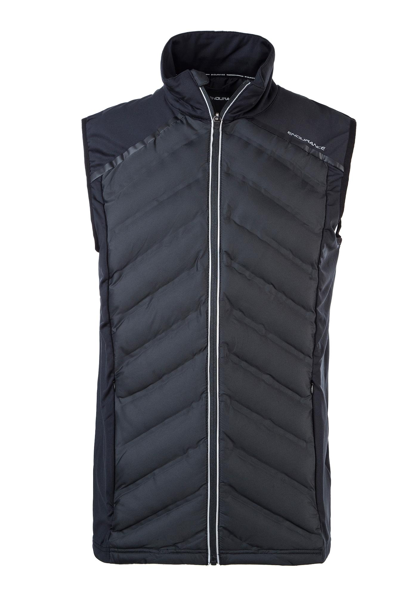ENDURANCE Športová vesta 'Coromandel'  antracitová / čierna