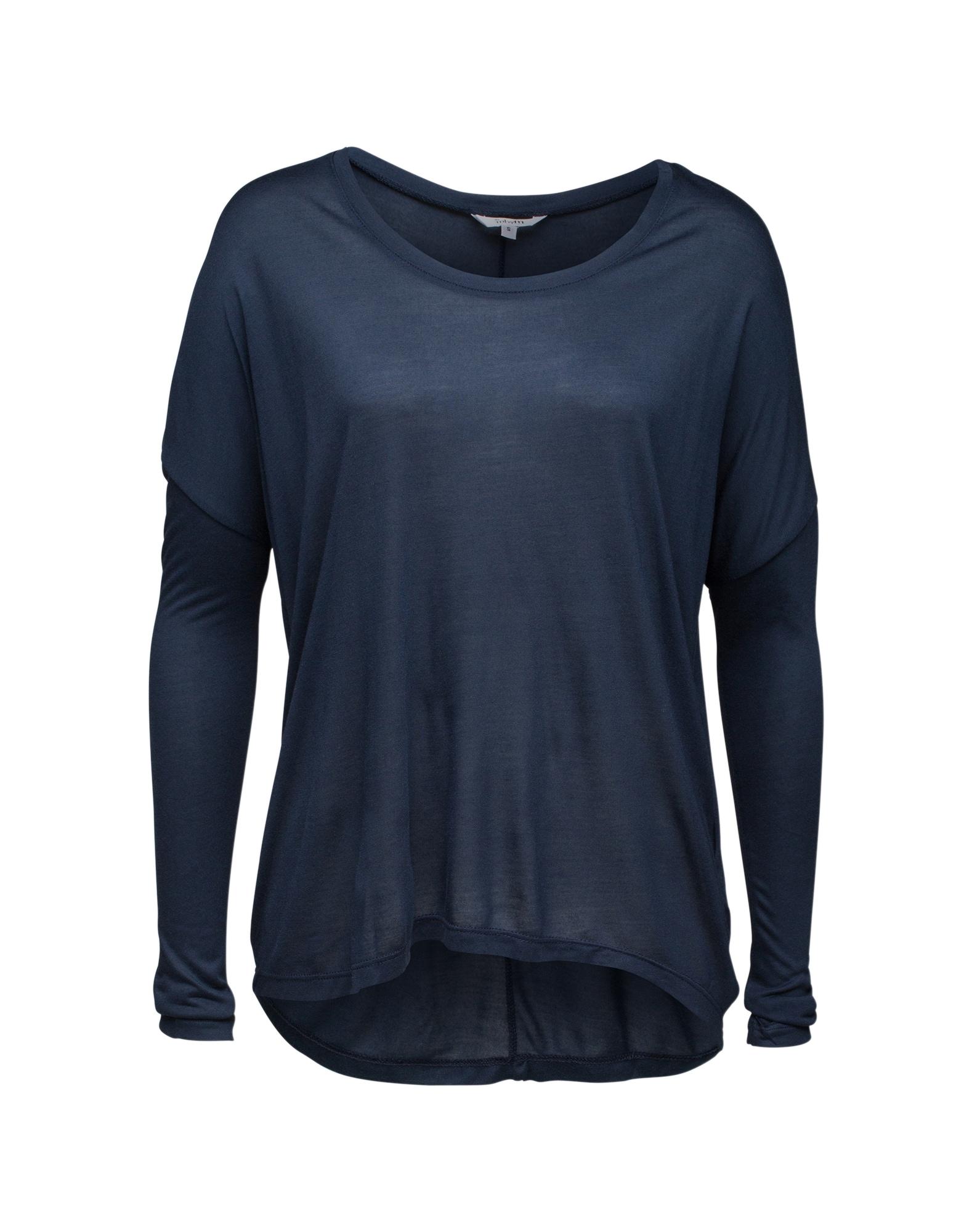 mbym Oversize tričko 'Petrol'  modré / tmavomodrá