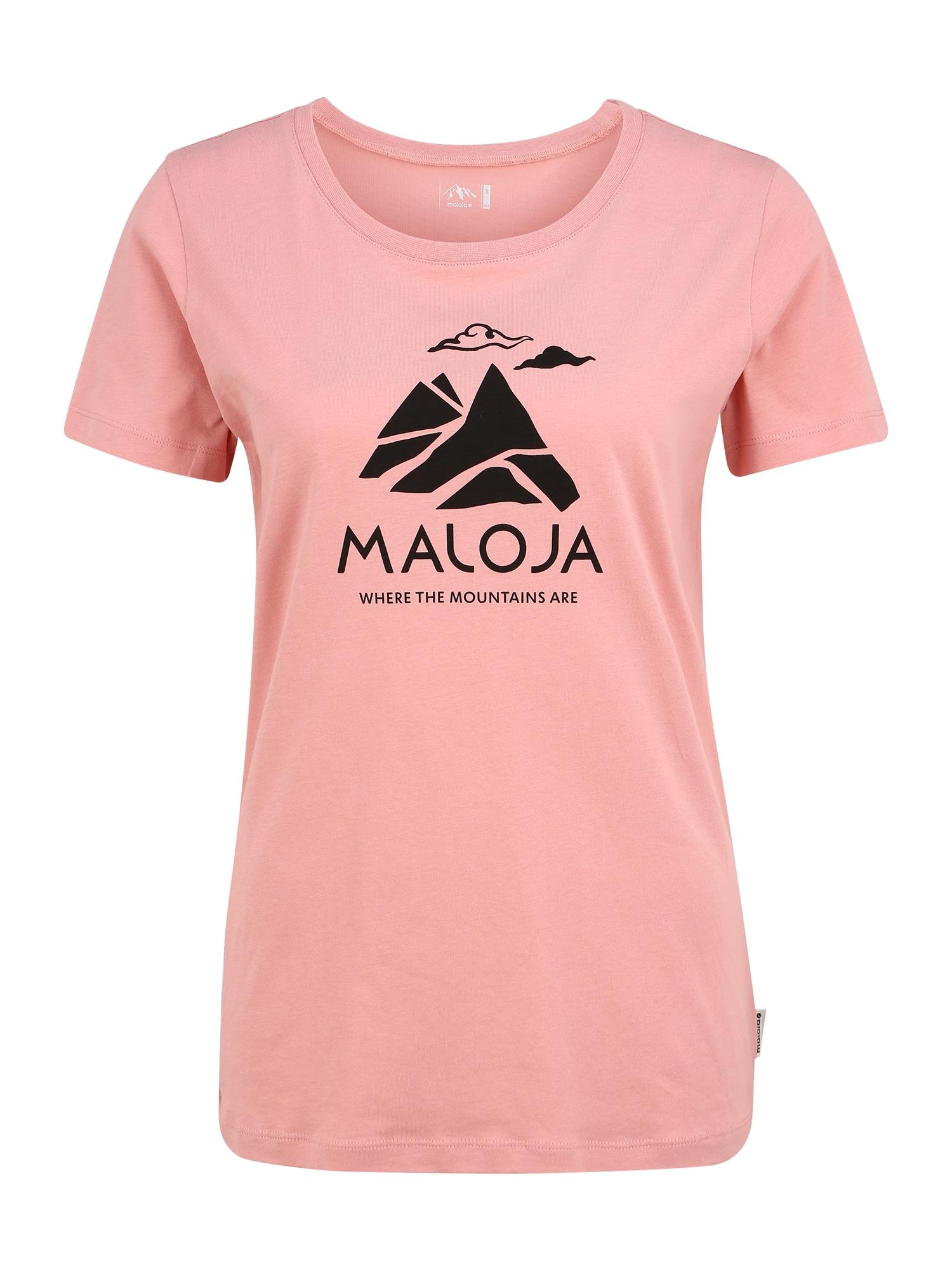 Maloja Sportiniai marškinėliai 'TurettaM.' rožinė