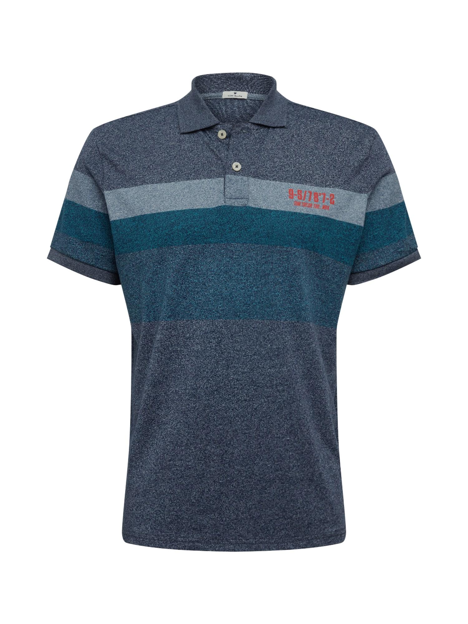TOM TAILOR Tričko  zmiešané farby / modré