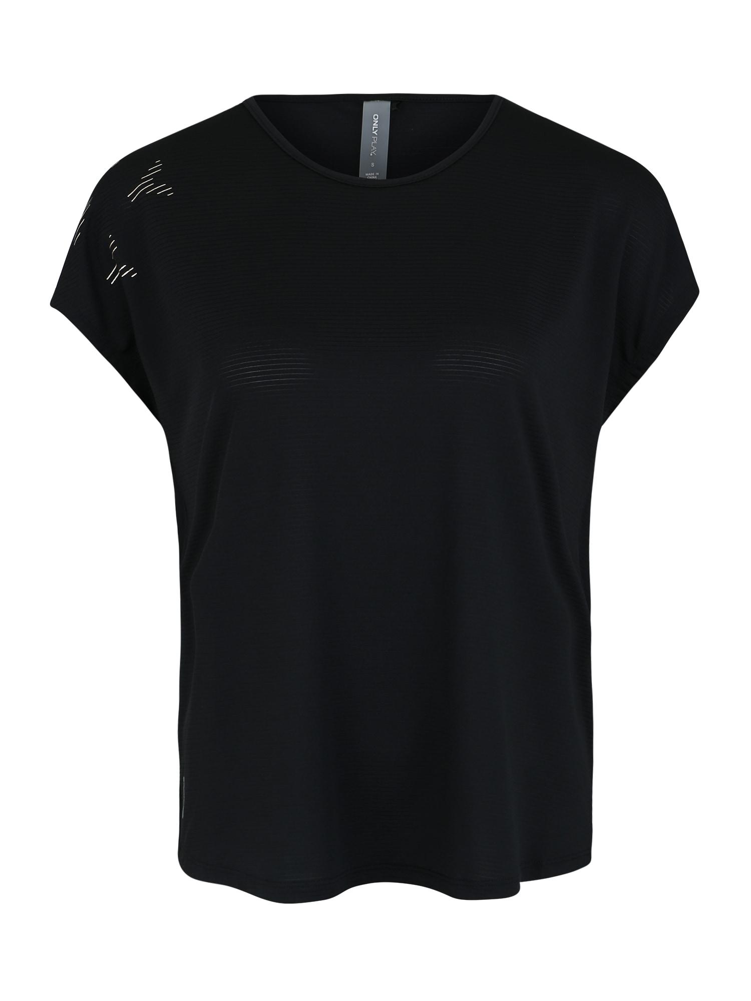 ONLY PLAY Sportiniai marškinėliai 'MILEY' juoda