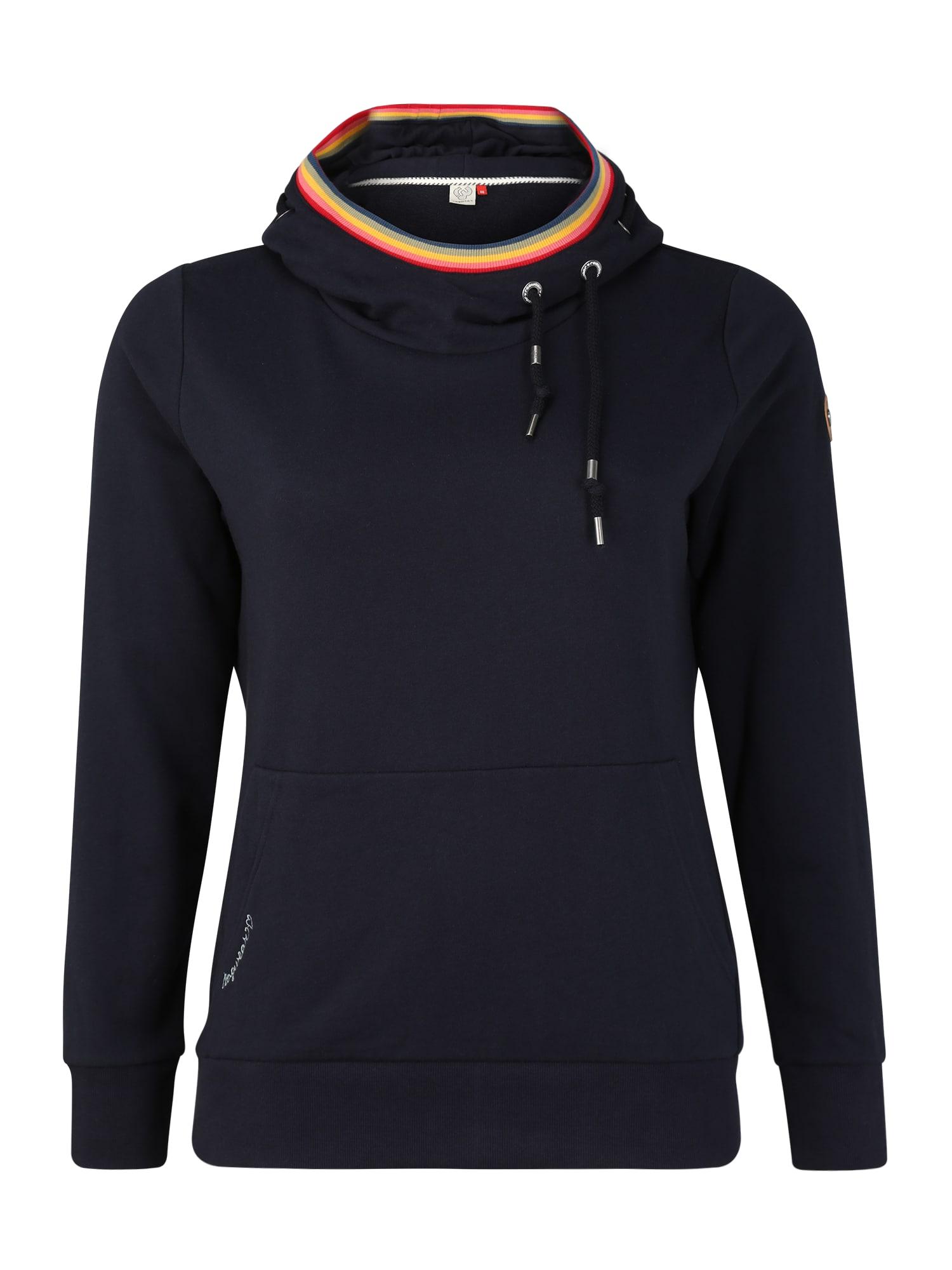 Ragwear Plus Megztinis be užsegimo 'ERMELL PLUS' tamsiai mėlyna