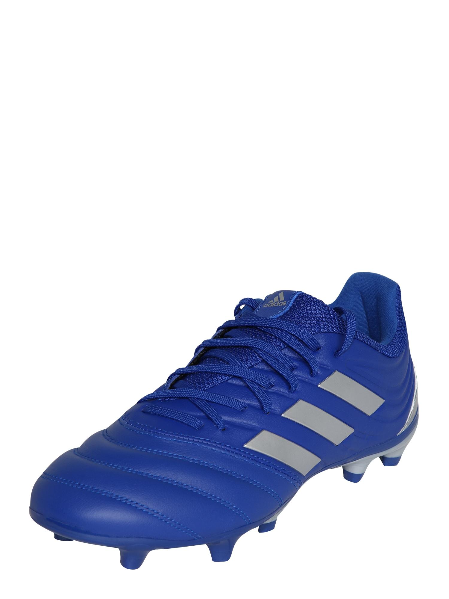 ADIDAS PERFORMANCE Futbolo bateliai sidabrinė / mėlyna