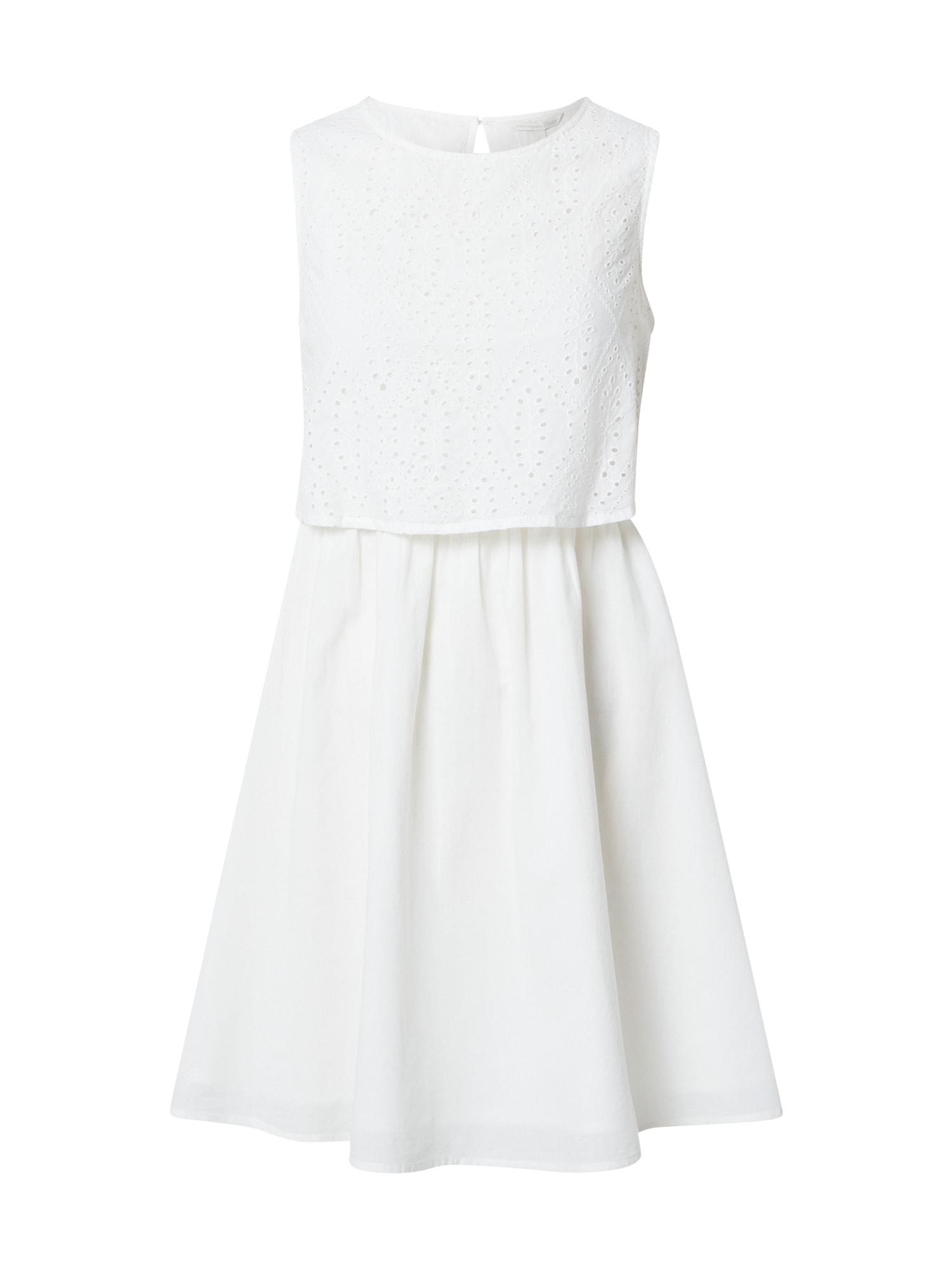 TOM TAILOR DENIM Letní šaty  bílá