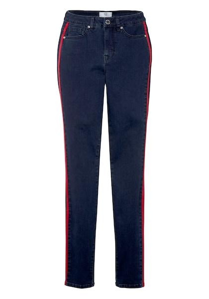 Hosen für Frauen - Jeans › Guido Maria Kretschmer › dunkelblau rot  - Onlineshop ABOUT YOU