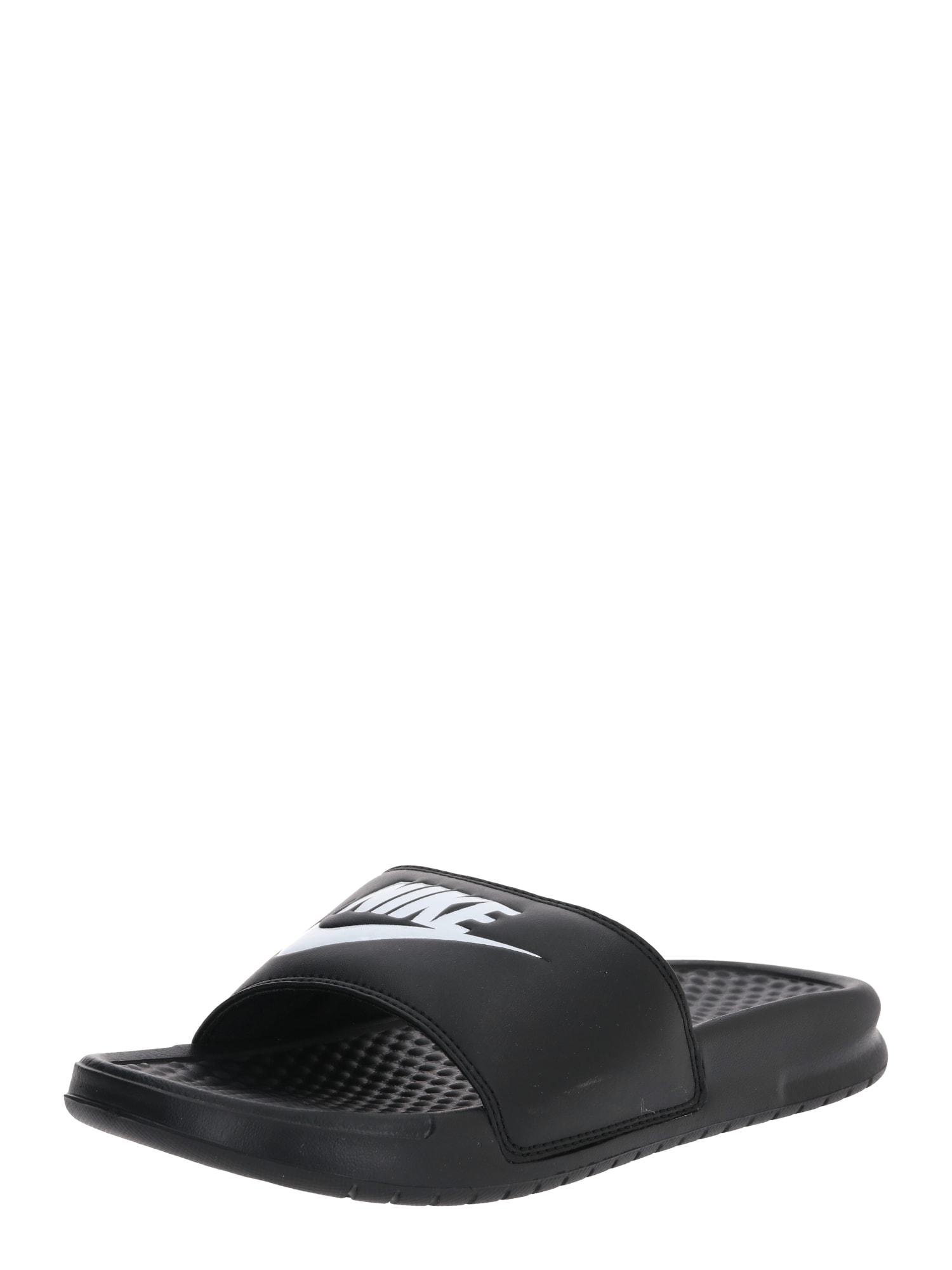 Nike Sportswear Šlepetės 'Benassi Just Do It' juoda