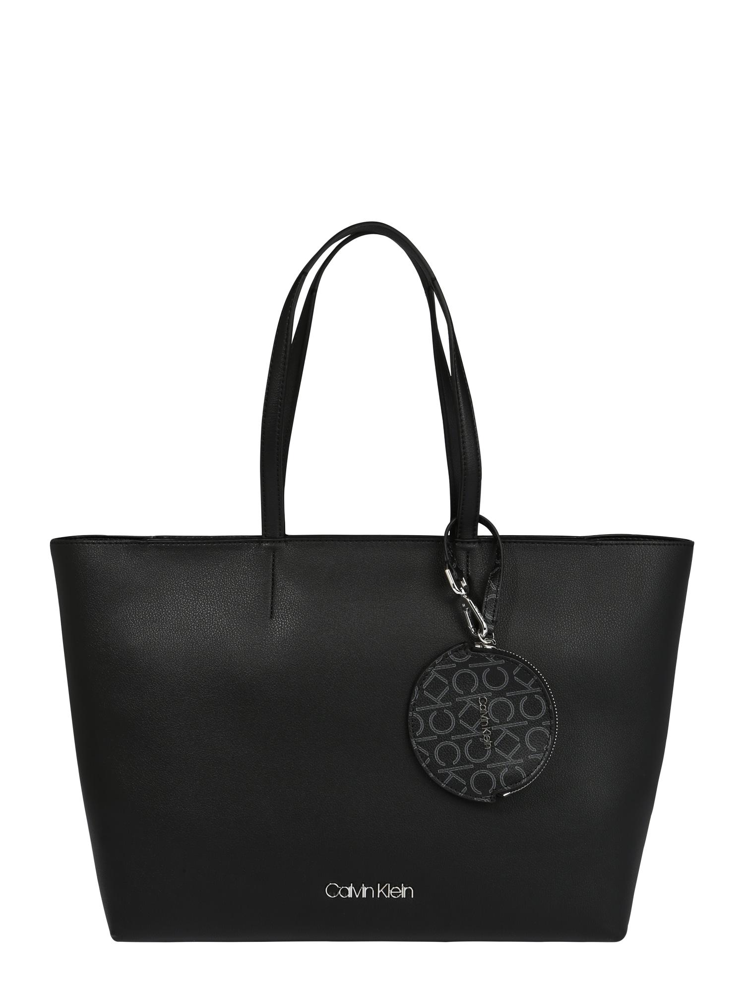 Calvin Klein Pirkinių krepšys juoda
