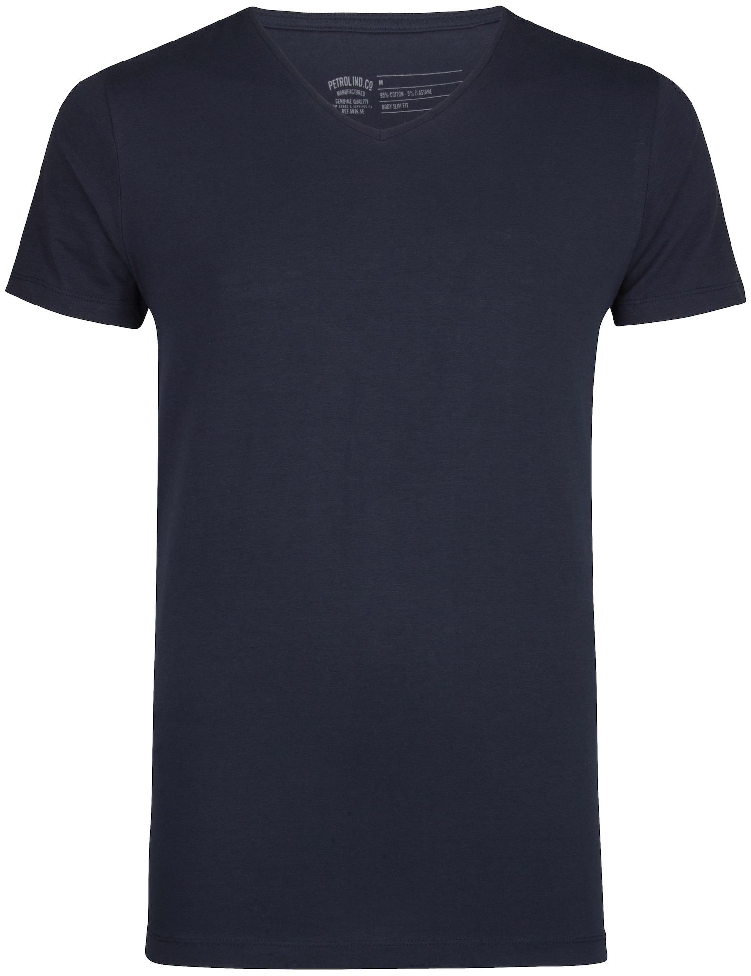 Petrol Industries Marškinėliai gencijono spalva