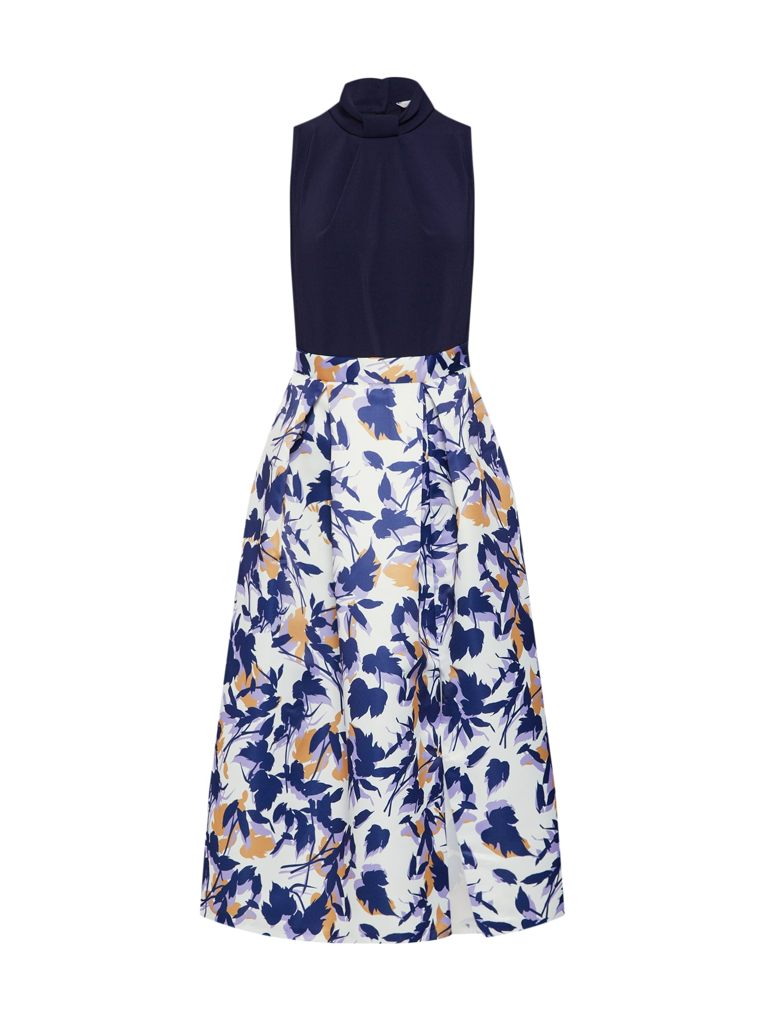 Šaty Closet Gold námořnická modř bílá Closet London