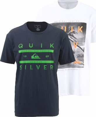 QUIKSILVER T-Shirt 'PACK SS TEE YM GRID REEF'