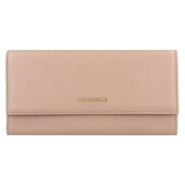 a40895bde3789 Geldboersen für Frauen - Coccinelle Geldbörse  Metallic Soft 19 cm  puder -  Onlineshop ABOUT