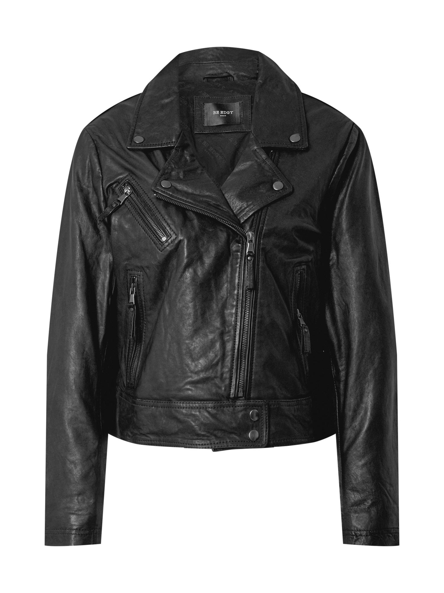 BE EDGY Prechodná bunda 'Bejohanna'  čierna