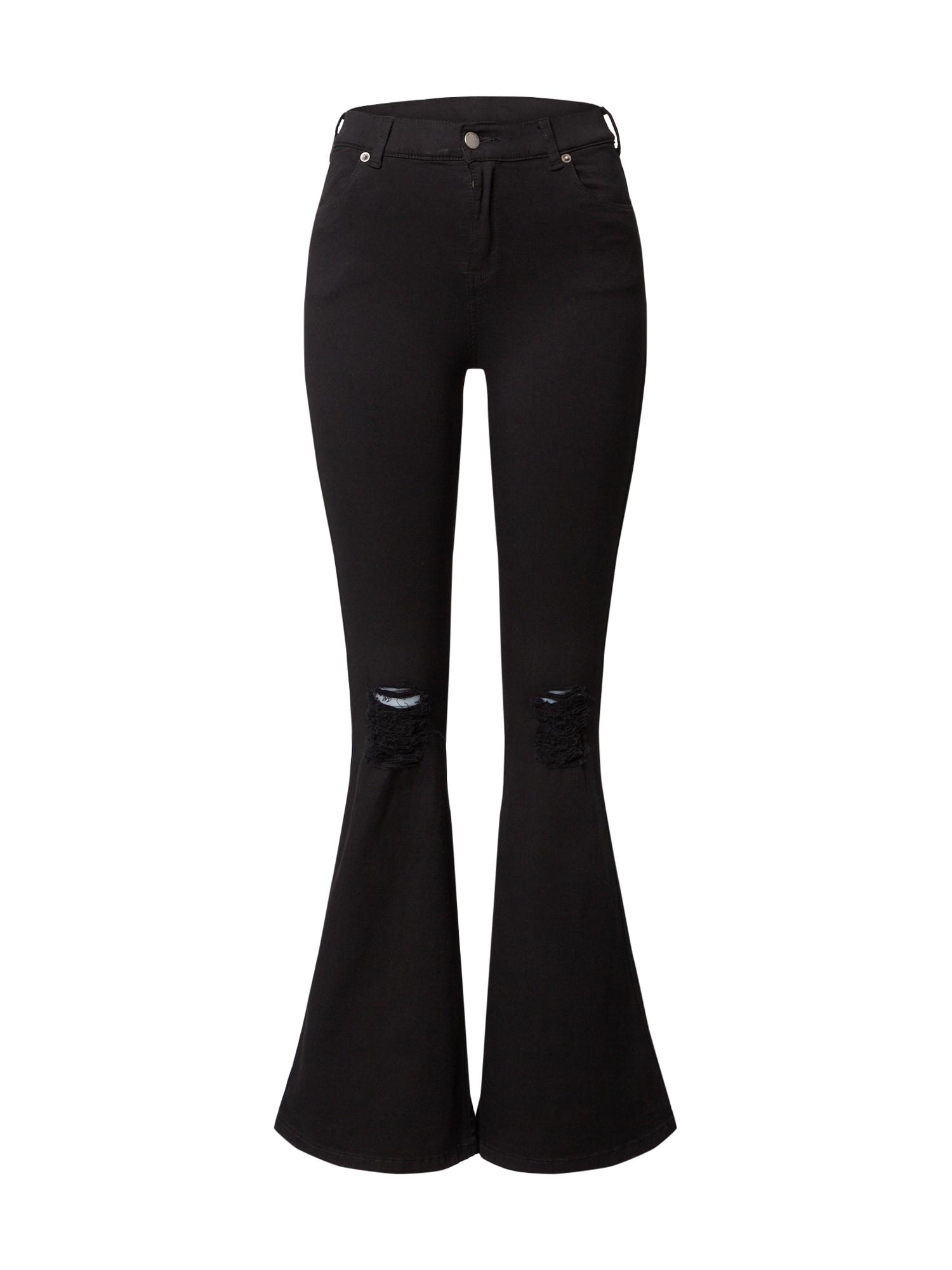 Dr. Denim Džinsai 'Macy' juodo džinso spalva