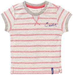 Noppies Kinder,Jungen T-shirt Faedo creme,beige,grau,rot | 08715141342804