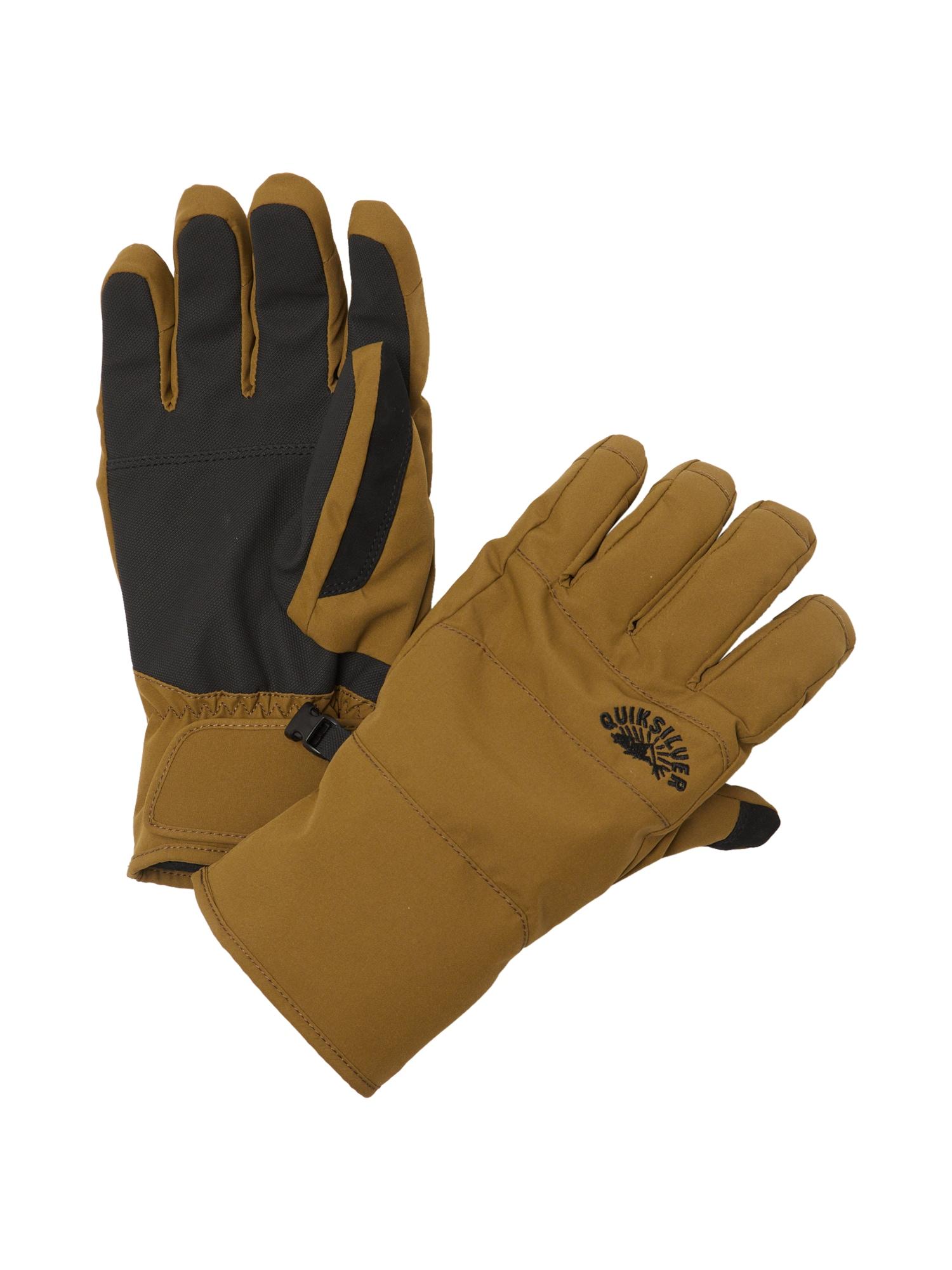 QUIKSILVER Sportovní rukavice  barvy bláta / olivová