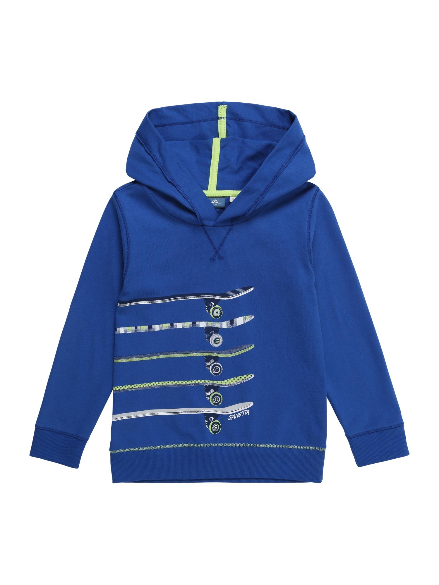 Mikina modrá Sanetta Kidswear