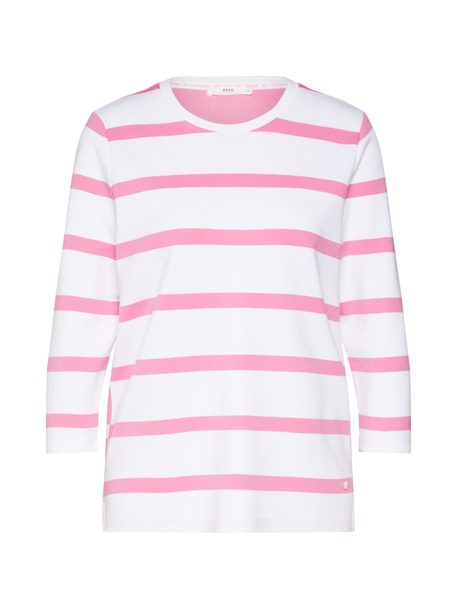Tričko Bobbie pink bílá BRAX