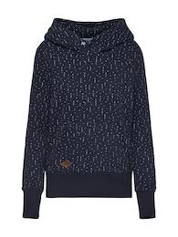 Ragwear Damen Sweatshirt CHELSEA HEARTS blau,weiß | 04251490166127