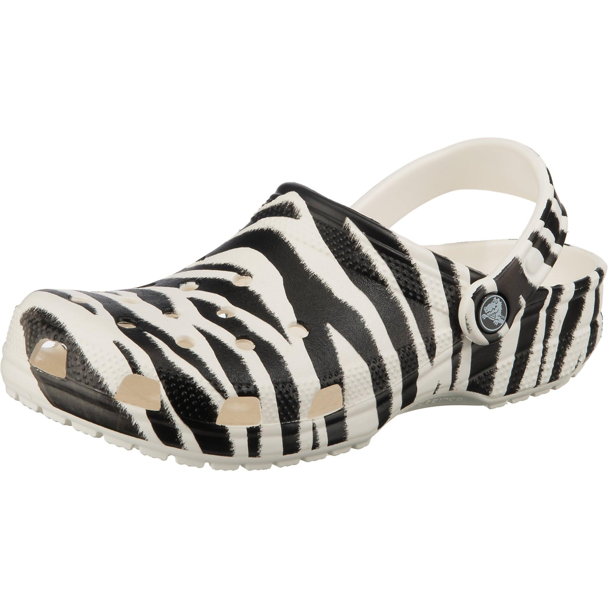 Crocs Klumpės balta / juoda