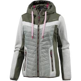 CMP Damen Kunstfaserjacke grau,khaki,pink | 08055199349166