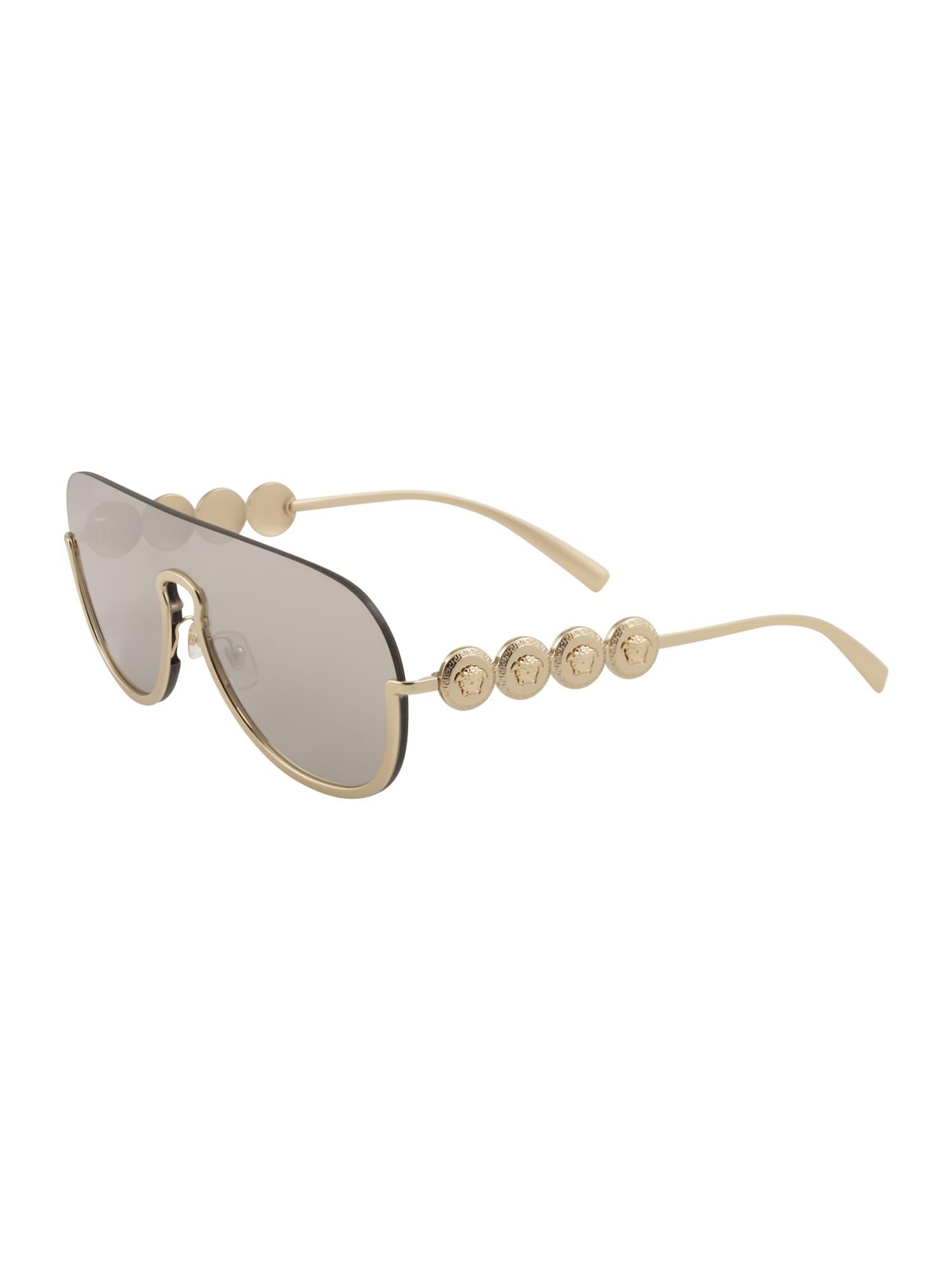 VERSACE Slnečné okuliare  zlatá