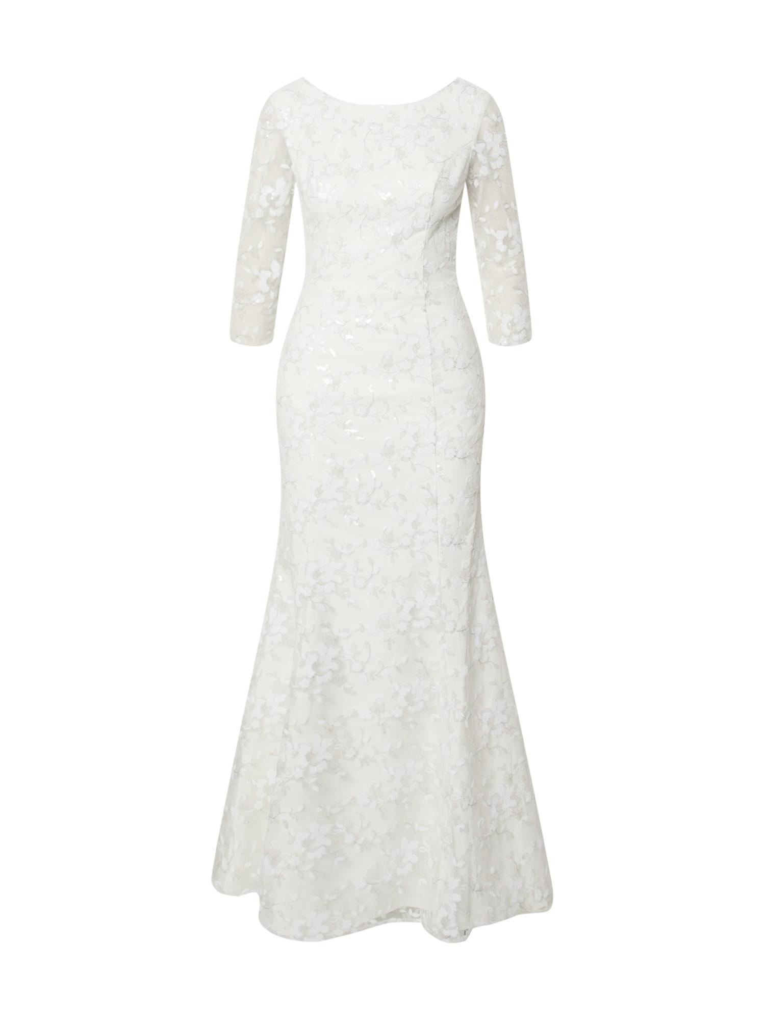 Chi Chi London Vakarinė suknelė 'Krista' balkšva